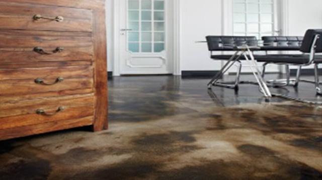 pavimenti in cemento acidificato unico